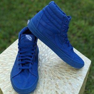 Vans SK8-Hi Mono Skate Sneaker-True Blue